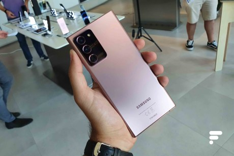 Dos bronze Samsung Galaxy Note 20 Ultra