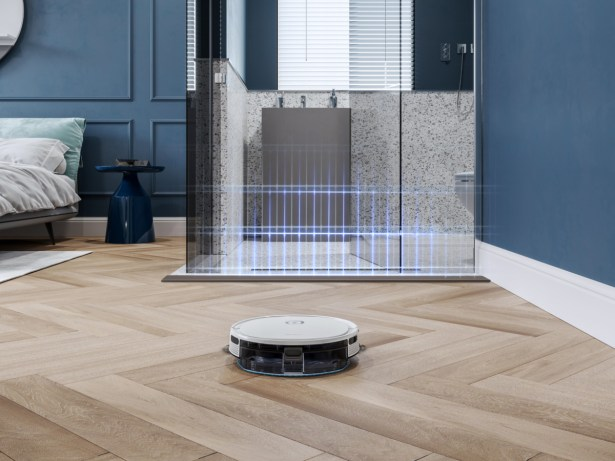 Le robot nettoyeur Deebot U2 d'Ecovacs cartographie la pièce
