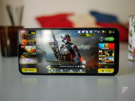 Le Xiaomi Redmi 9 permet de lancer Call of Duty Mobile // Source : Frandroid