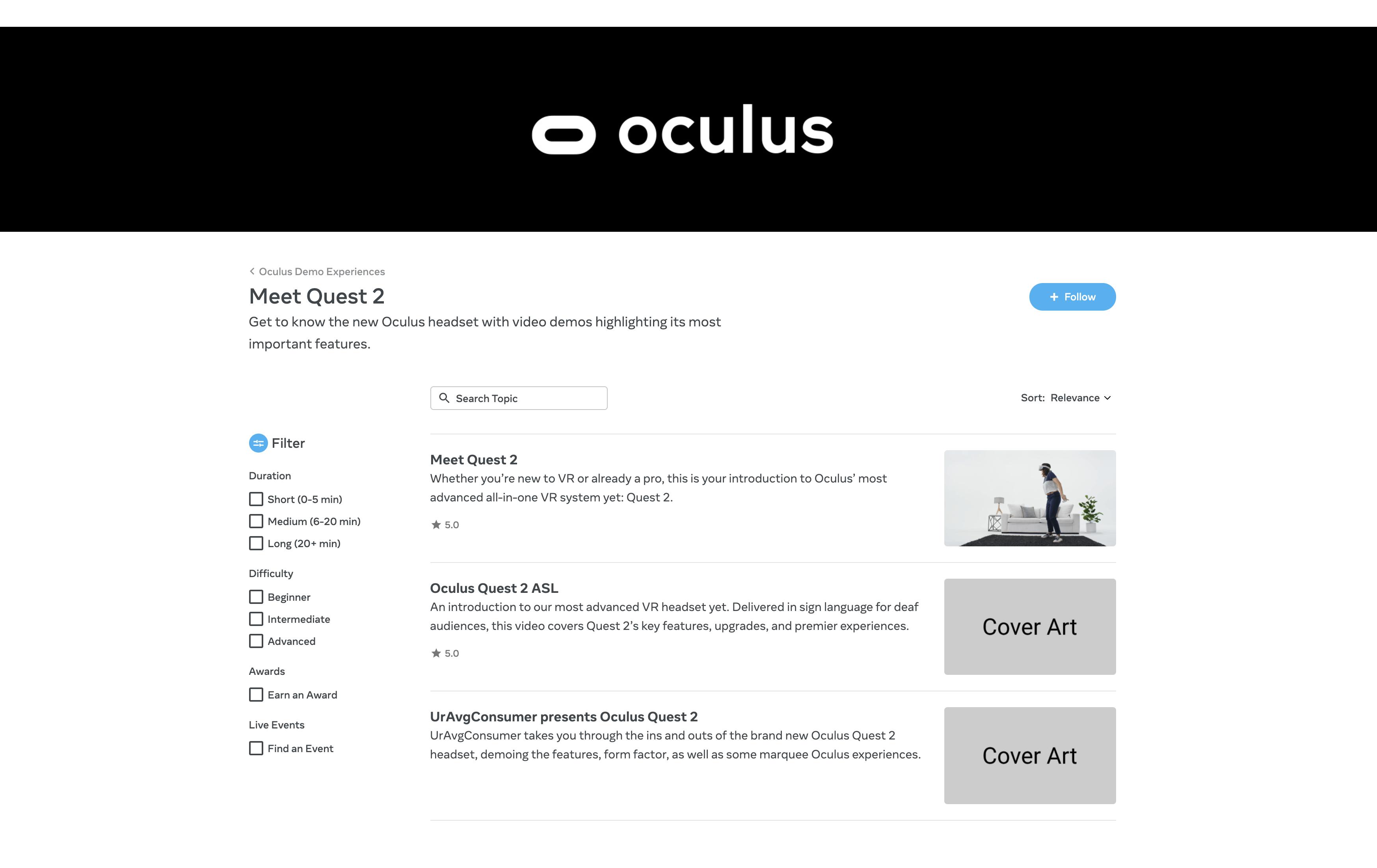 L'Oculus Quest 2 fuite avant l'heure