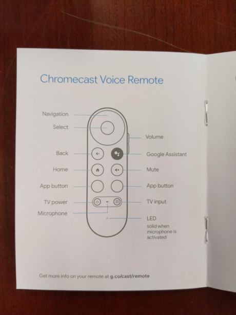 Chromecast Google TV manuel