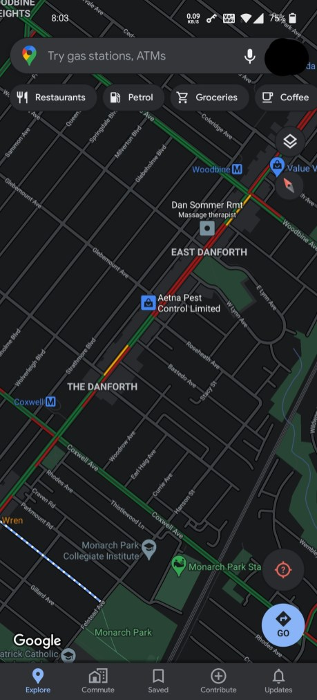 Google Maps mode sombre deploiement (1)