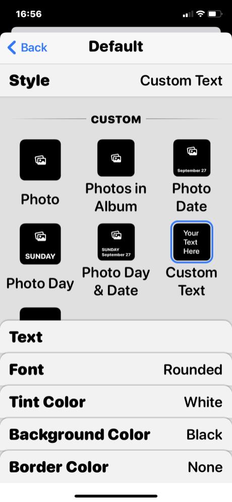 iOS Widgets 22