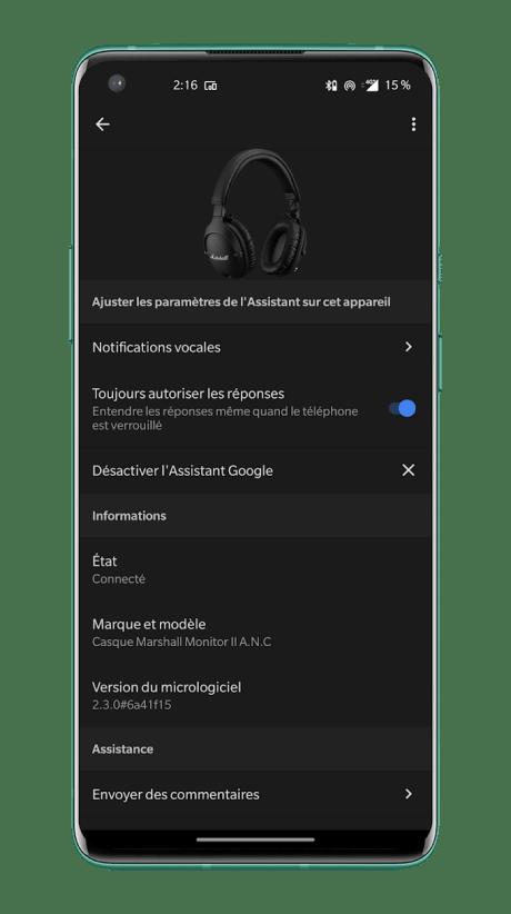 Marshall Monitor II ANC - Google Assistant (1)