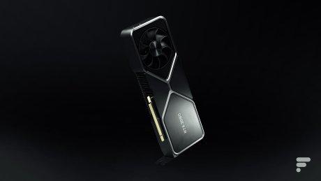 La Nvidia GeForce RTX 3080 // Source : Arnaud Gelineau - Frandroid