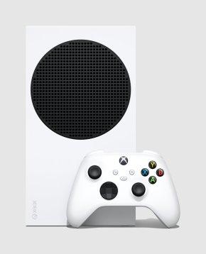 Le côté de la Xbox Series S // Source : Microsoft
