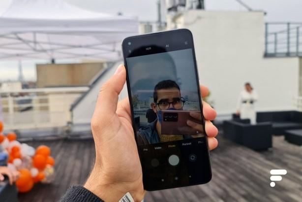 Selfie avec Xiaomi Mi 10T Pro