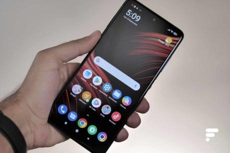 Xiaomi Poco X3 en utilisation