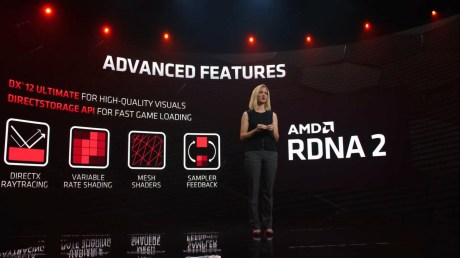 Les nouvelles fonctions de RDNA 2