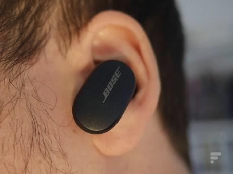 Le son des Bose QC Earbuds s'adapte automatiquement