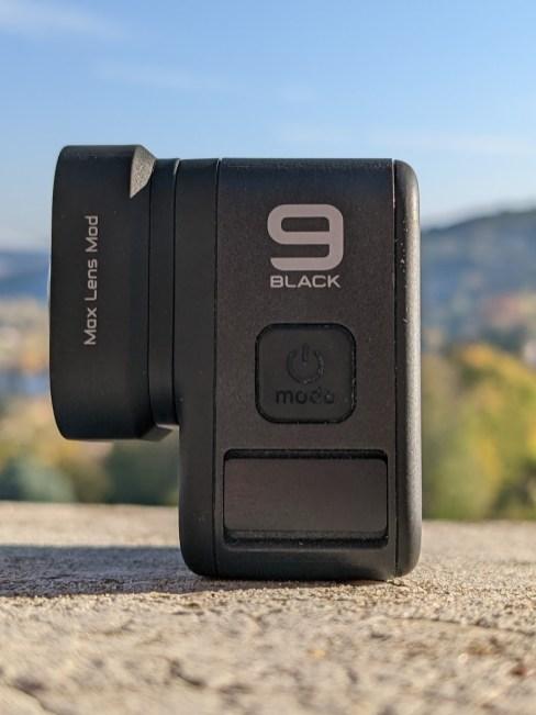 Mod d'objectif GoPro Max