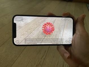 L'application JigSpace de réalité augmentée