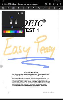 Samsung Galaxy Tab S6 Lite - Annotation PDF
