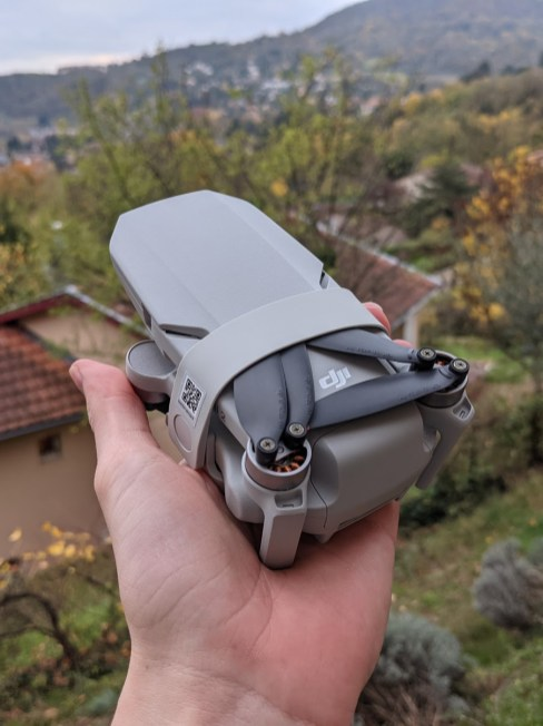 DJI Mini 2 - Attache hélices