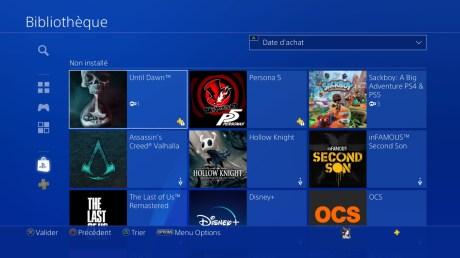 Les jeux PS+ Collection de la PS5 peuvent être téléchargés sur la PS4