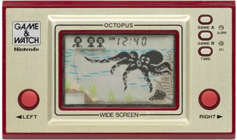 Le jeu Octopus sur Game and Watch // Source : Pica-Pic-60x60.com