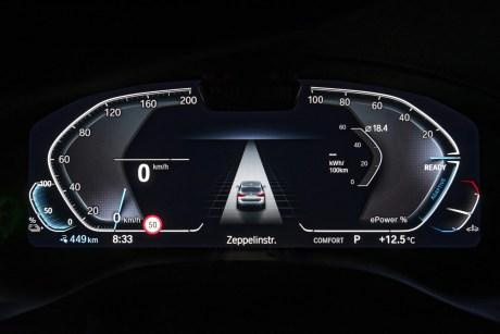 L'intérieur du BMW iX3 // Source : BMW France