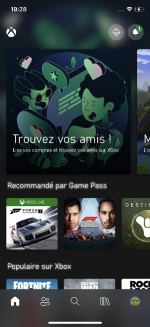 Xbox Series X application Xbox officielle (1)