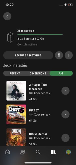 Xbox Series X application Xbox officielle (2)