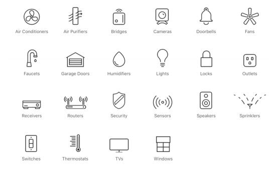 Les accessoires connectés pris en charge par Apple