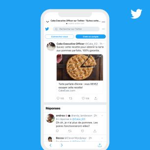 Depuis le Snap, les utilisateurs peuvent aller sur Twitter