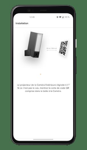 Netatmo Caméra Extérieure Intelligente avec Sirène - Application - Installation (3)
