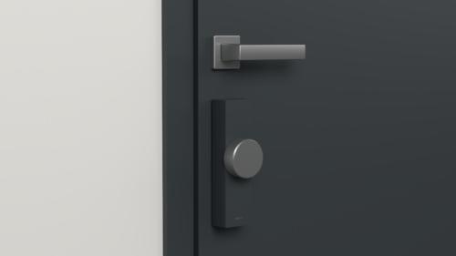 La motorisation de serrure Door Keeper existe en noir