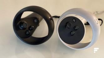 Les manettes Touch de l'Oculus Quest et Oculus Quest 2