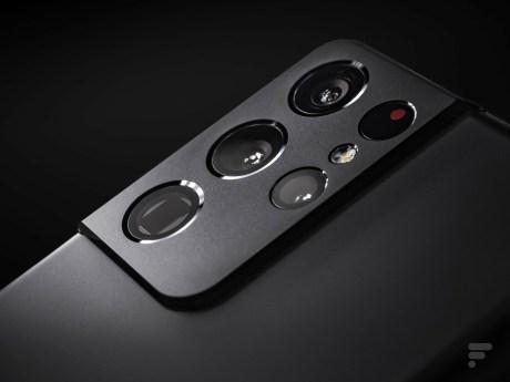 Samsung Galaxy S21 Ultra module photo