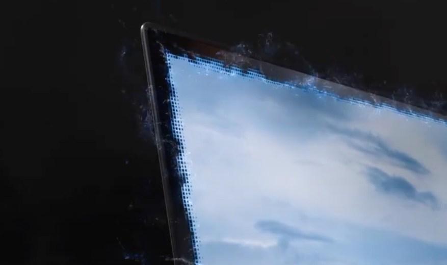 Samsung officially unveils a hidden camera concept under an OLED screen ... but on a laptop