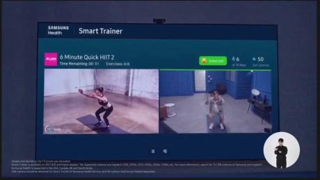 L'IA analyse vos mouvements pendant vos cours de fitness