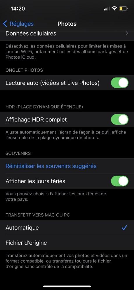 Comment importer vos photos HEIC en JPEG sur votre PC 01