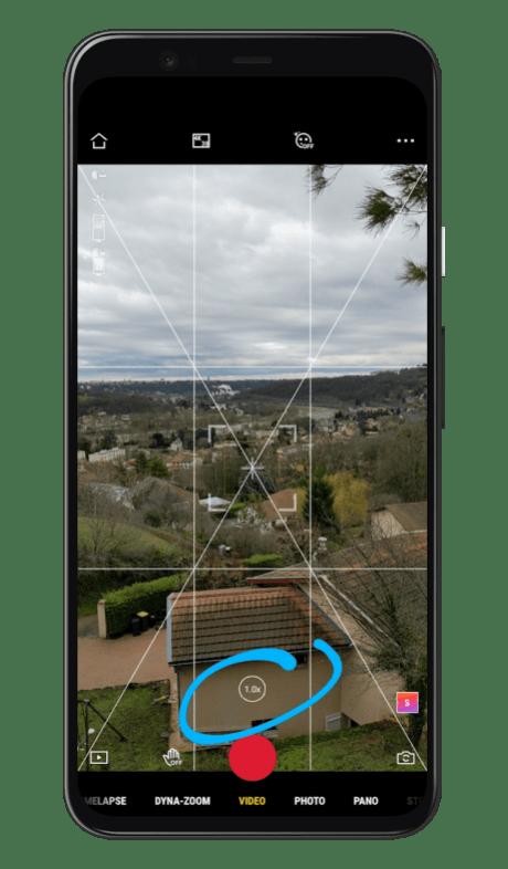 DJI OM 4 - Mimo Google Pixel 5