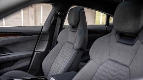 L'intérieur de l'Audi e-tron GT quattro // Source : Marius Hanin pour Frandroid
