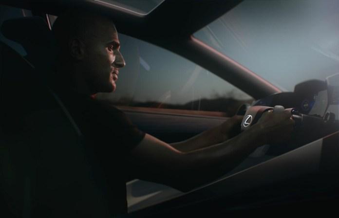 Driving the Lexus LF-Z