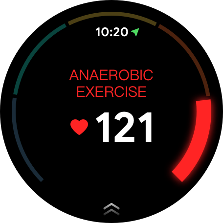 Anaerobic Exercise Watch Face