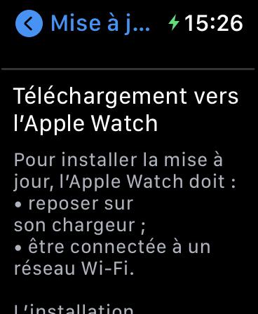 Comment Mettre à Jour son Apple Watch avec l'a seule montre 08