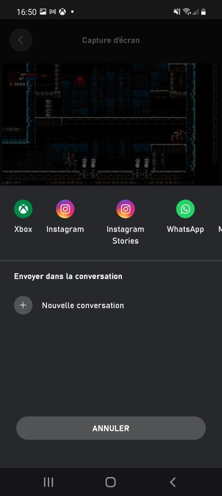 Comment partager des clips et captures d'écran de l'appli Xbox smartphone ou tablette 02