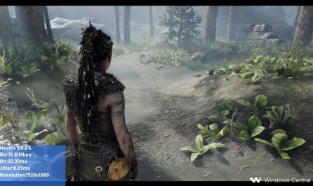 Parede Full HD 1080p Hellblade