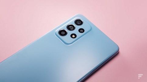 Le dos du Samsung Galaxy A52 5G