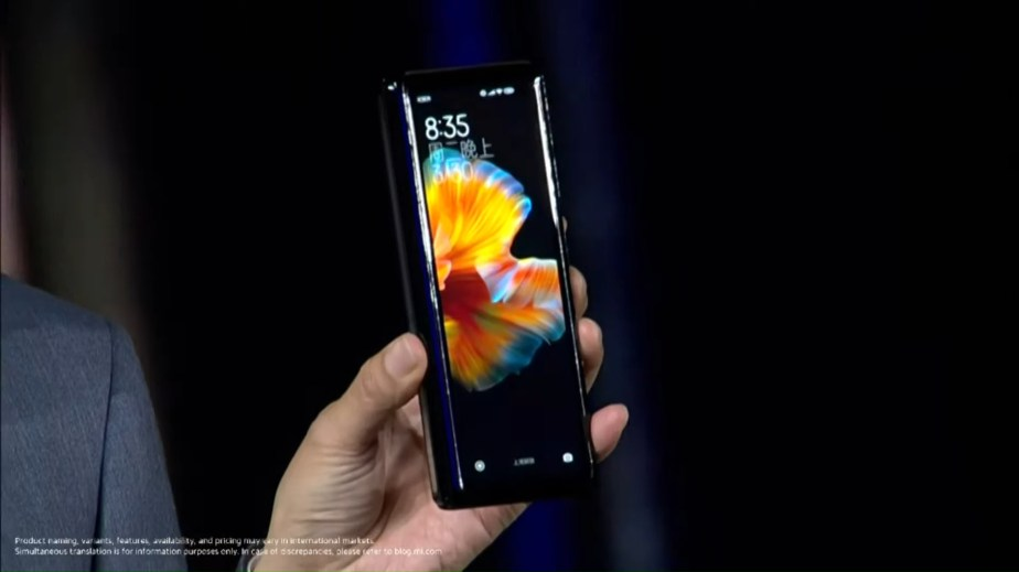 Xiaomi Mi Mix Fold Lei Jun 2