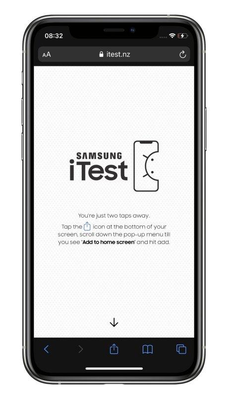 Samsung iTest iPhone (1)