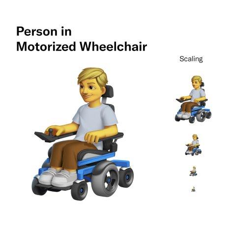 Les propositions d'emoji pour illustrer le handicap // Source : Twitter Design