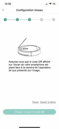 La lecture du QR Code fonctionne sans accroc // Source : Frandroid / Yazid Amer