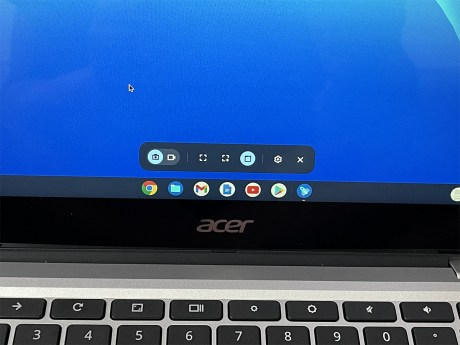 Comment enregistrer l'écran en vidéo sur chrome OS 02