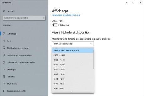 Comment gérer le multiscreen sous Windows 10 09