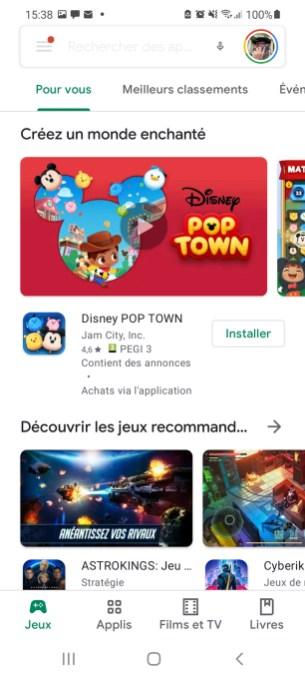 Comment télécharger une appli à partir du Google Play Store et sans le Play Store 02