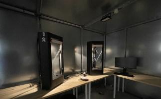 Les test d'autonomie sont réalisés dans une cage de Faraday