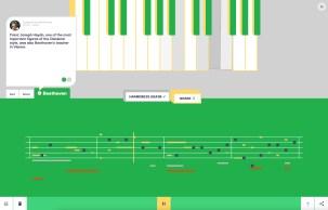 Assisted Melody permet de vous transformer en compositeur // Source : Google Arts & Culture