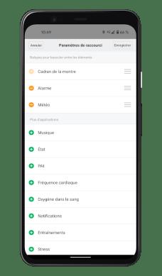 Xiaomi Mi Smart Band 6 - Mi Fit App - Paramètres (4)